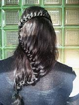 Fryzury damskie długie