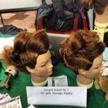 Upięcia włosów wykonane na pokazach _2