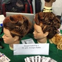 Upięcia włosów wykonane na pokazach _3