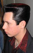 Fryzury konkursowe męskie
