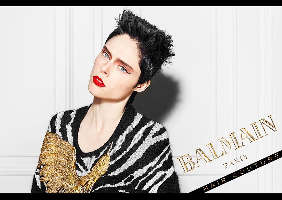 Balmain hair icons campaign fall winter 2017 fryzjerzy - Paris 2000 hair salon ...