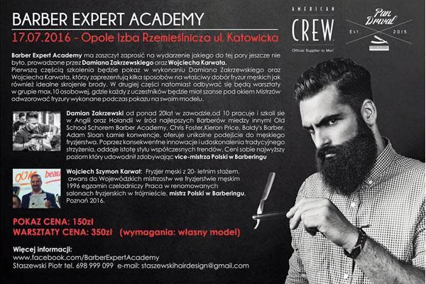 Barber Expert Academy Zaprasza Fryzjerzycom Profesjonalna