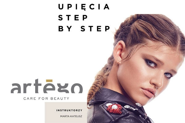 Upięcia step by step