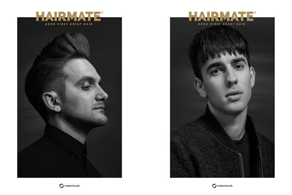 Men HAIRMATE x Waterclouds