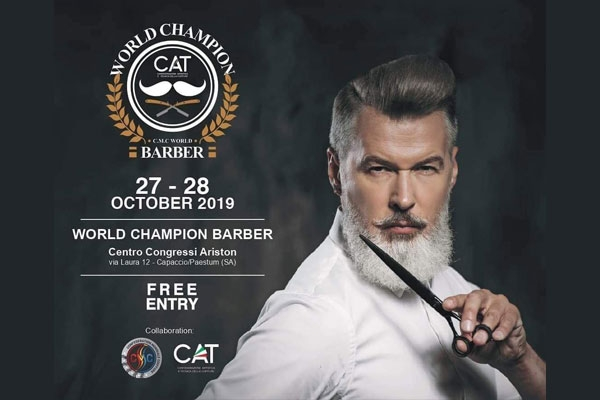 WORLD CHAMPION BARBER