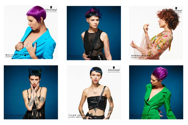 Schwarzkopf Professional UK's AW Inspire collection